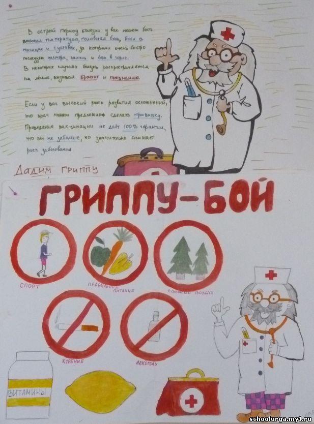 информация о профилактике гриппа: